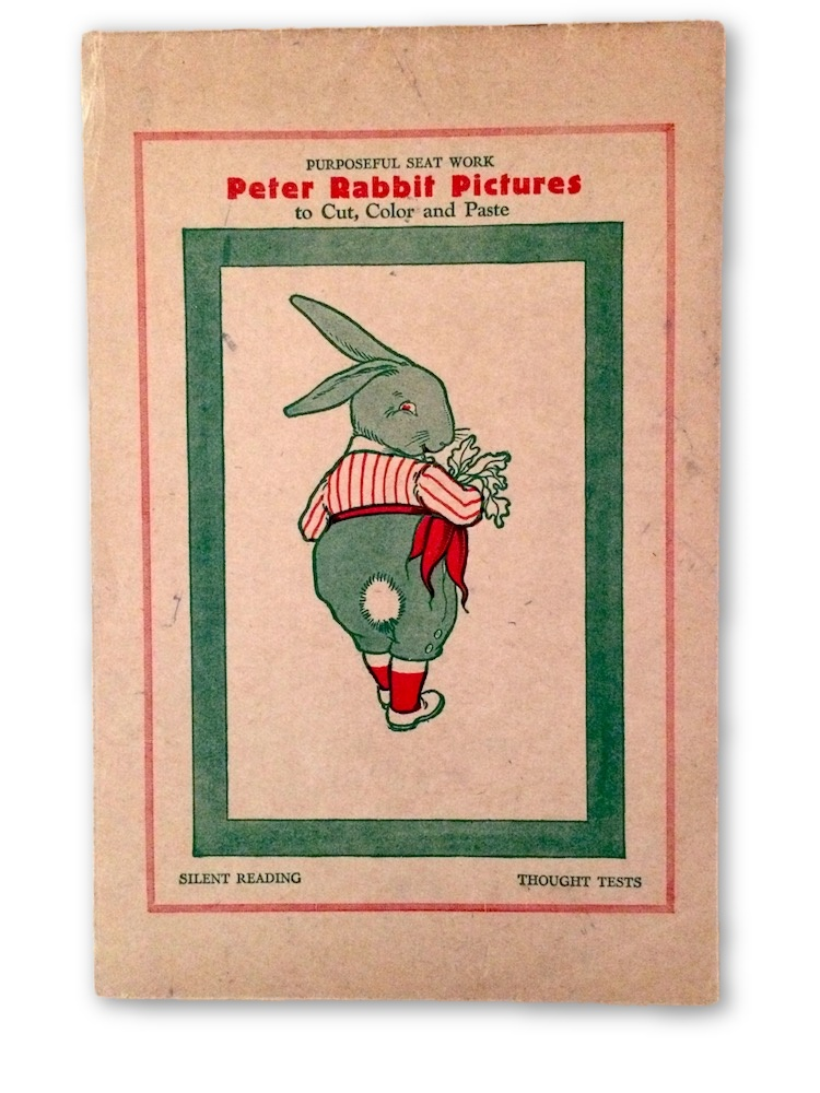 Peter Rabbit Pictures To Cut Color And Paste Beatrix