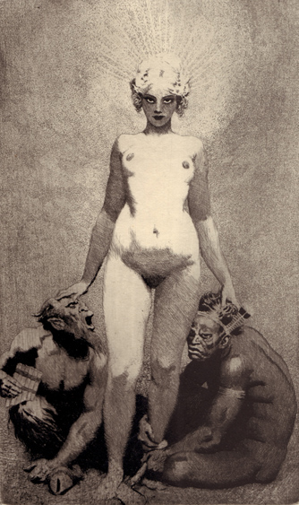 Creative Effort. An Essay in Affirmation. Norman LINDSAY.