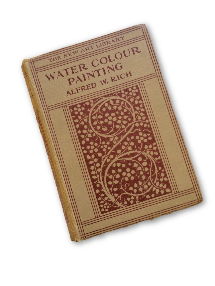 Water Colour Painting. THEA PROCTOR, Alfred. W. RICH.