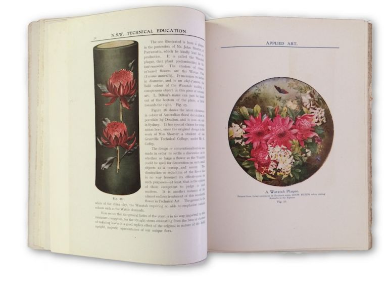 The Australian Flora in Applied Art. Part I: The Waratah. Richard T. BAKER.