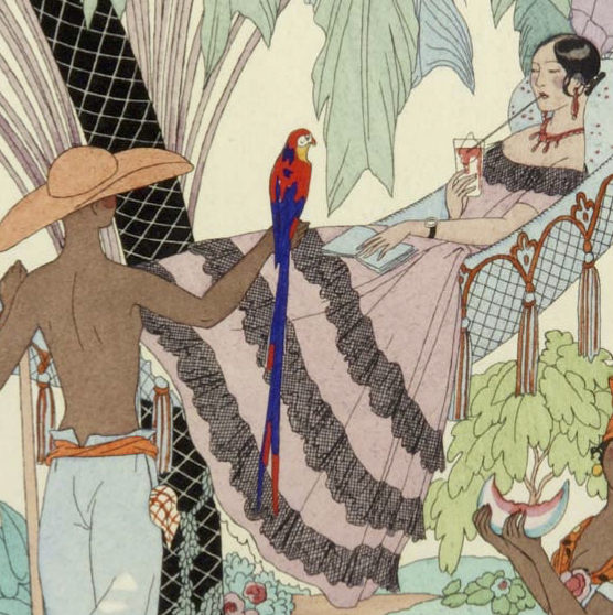 Falbalas and Franfreluches. George Barbier.