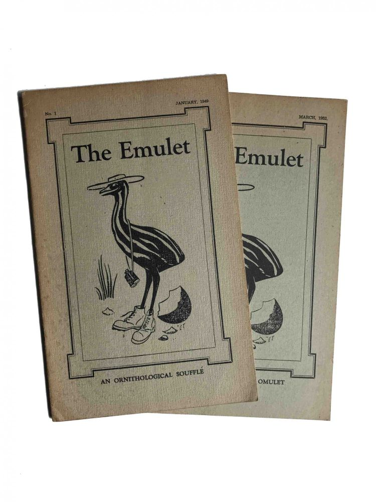 The Emulet; An Ornithological Soufflé / An Ornithological Omulet. Eric Thake.