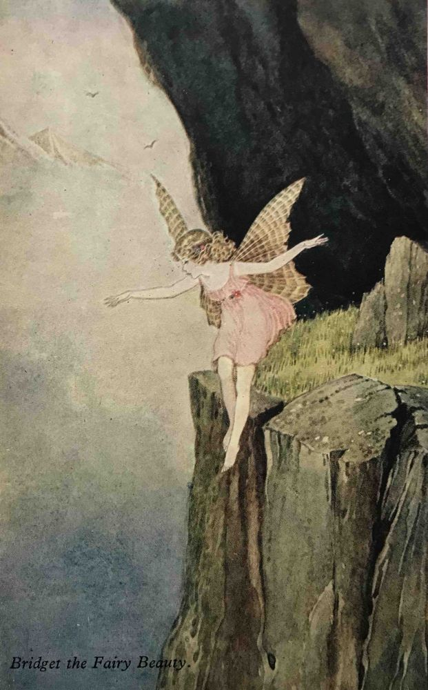 Elves and Fairies; Series No. 75. Six Reproductions in Colour from the Original Paintings by Ida Rentoul Outhwaite. Ida Rentoul OUTHWAITE, Black's Beautiful Post Cards.