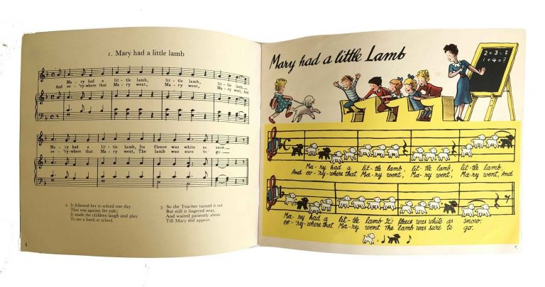 Mary had a Little Lamb and other Nursery Songs. H A. Rey.