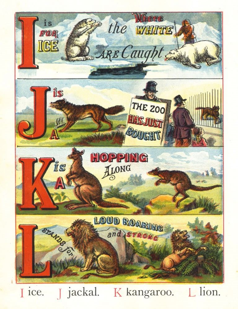 The ABC of Animals. Laura VALENTINE, McLOUGHLIN BROS.