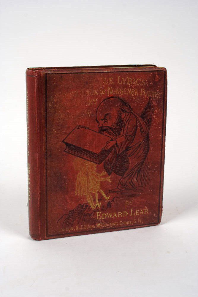 Laughable Lyrics: A Fourth Book of Nonsense Poems, Songs, Botany, Music…. Edward LEAR.