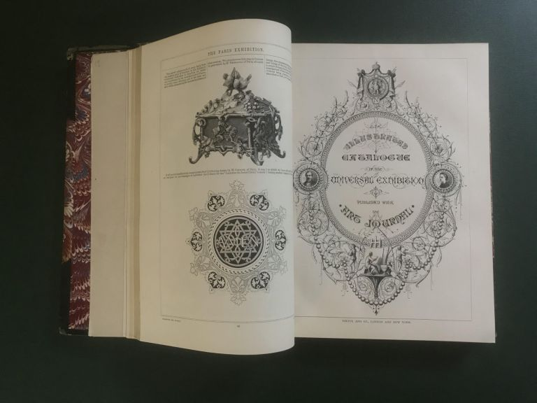 The Illustrated Catalogue of the Universal Exhibition [bound with] The Exhibition of Art Industry in Paris