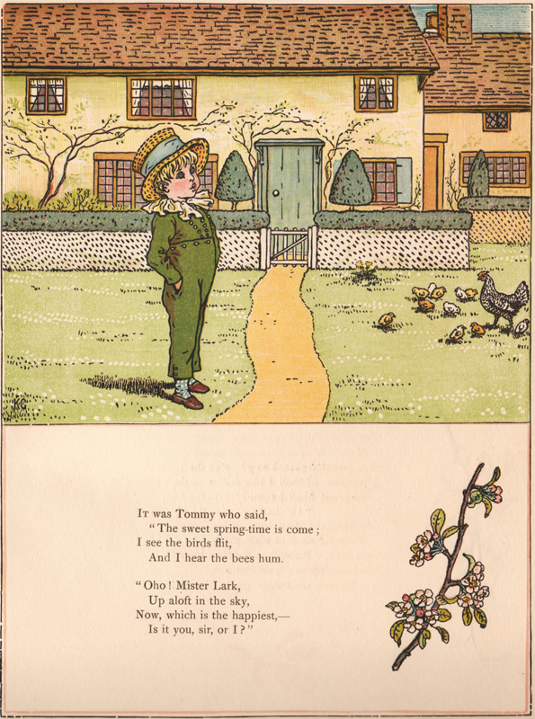 Under the Window. Pictures & Rhymes for Children. Kate GREENAWAY.