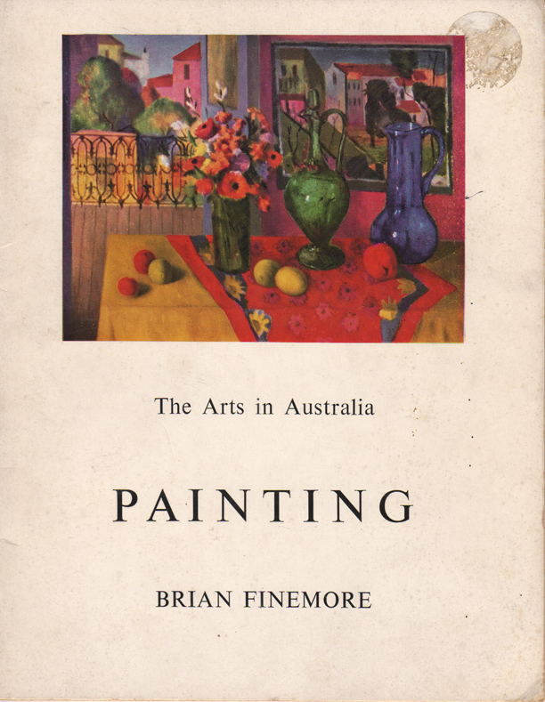 "Painting. From ""The Arts in Australia"" series. Brian FINEMORE."