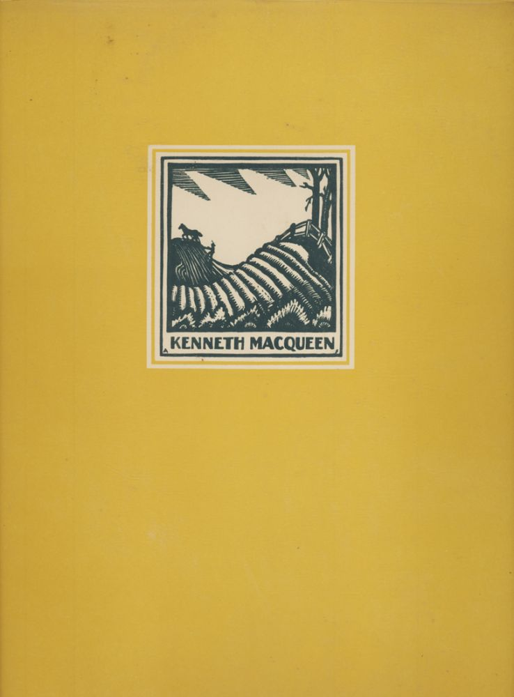 Adventure in Watercolour. An Artist's Story Written and Illustrated by Kenneth Macqueen. Kenneth MACQUUEN.