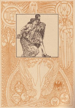 The Tale of Lohengrin, Knight of the Swan. Willy POGANY, T. W. ROLLESTON.