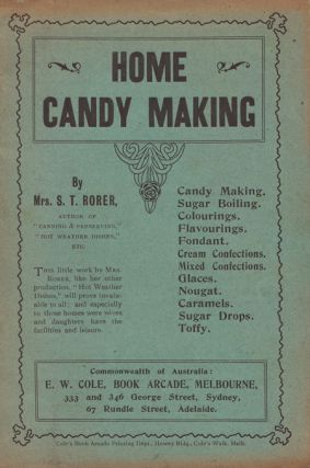 Home Candy Making. Mrs S. T. RORER