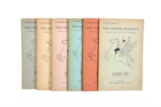 The London Aphrodite {Numbers 1 - 6}. Jack LINDSAY, P. R. STEPHENSEN
