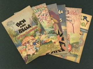 Collection of Six Ben and Bella titles. Peg MALTBY