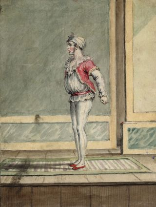 Forty-six fine watercolours elegantly bound in a nineteenth-century album.