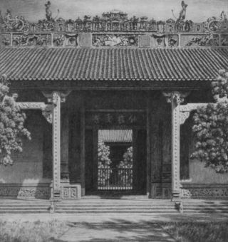 Grecian and Chinese Architecture