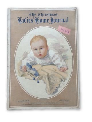 The Christmas Ladies' Home Journal 1909. Rose O'Neill, Edward W. BOK