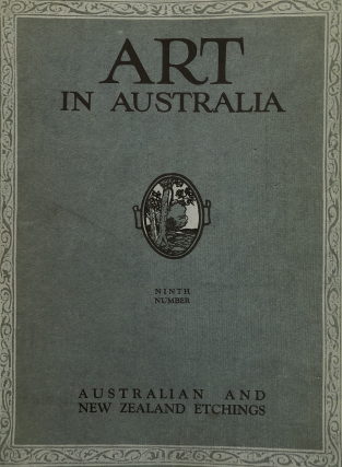 Australian and New Zealand Etchings. ART IN AUSTRALIA, Bertram Stevens URE SMITH, C. LLoyd Jones