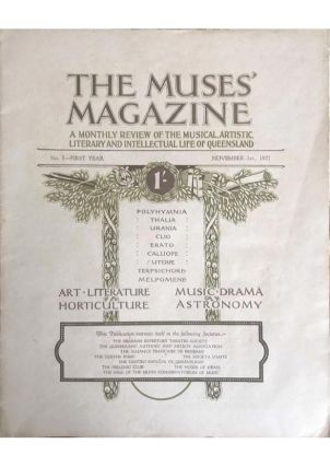 The Muses' Magazine; A Monthly Review of the Musical, Artistic, Literary and Intellectual Life of...