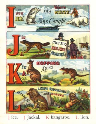 The ABC of Animals. Laura VALENTINE, McLOUGHLIN BROS