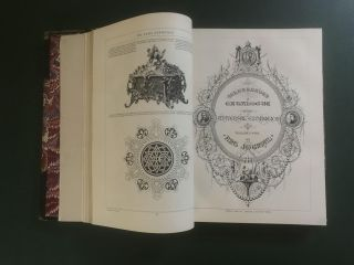 The Illustrated Catalogue of the Universal Exhibition [bound with] The Exhibition of Art Industry...