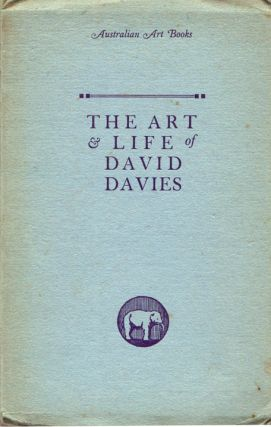 The Art and Life of David Davies. David MACDONALD
