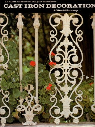 Decorative Cast Iron in Australia. E. Graeme ROBERTSON.