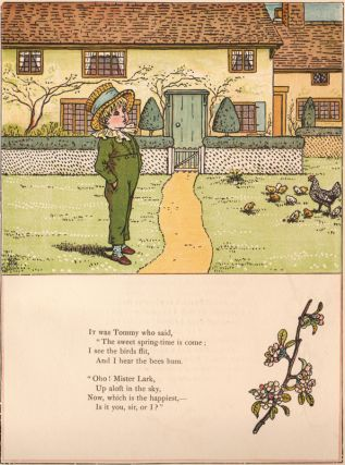 Under the Window. Pictures & Rhymes for Children. Kate GREENAWAY