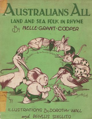Australians All. Land and Sea Folk in Rhyme. Nelle Grant COOPER.