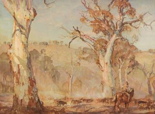 The Art of Hans Heysen. David DRIDAN