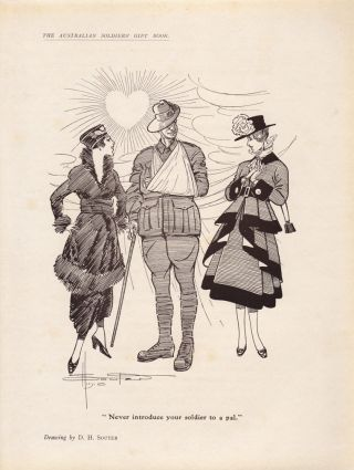 The Australian Soldiers' Gift Book. Ethel TURNER, Bertram STEVENS