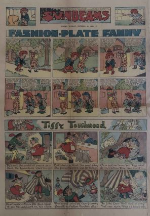 Us Fellers and Tiggy Touchwood in Sunbeams Supplement to the Sunday Sun, October 26, 1930