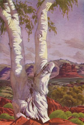 The Art of Albert Namatjira. Albert NAMATJIRA, C. P. MOUNTFORD